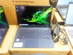 Acer Swift 5 laptop, core i7 10th generation processor, 16GB RAM, 512GB storage. Comes with
