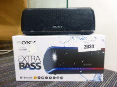 Sony SRS-XB31 Bluetooth speaker with box