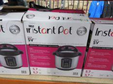 (TN61) Boxed Instant Pot multi use 9-in-1 pressure cooker