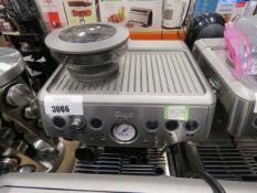 (TN74) Unboxed Sage Barista Express coffee machine