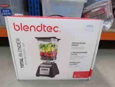 Boxed Blendtech Total blender