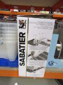 Boxed Sabatier dishrack