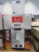 Boxed Solo Melitta espresso coffee machine