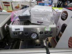 (TN75) Unboxed Sage Barista Express coffee machine