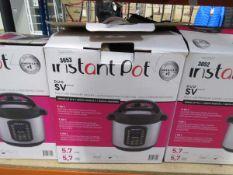 (TN60) Boxed Instant Pot multi use 9-in-1 pressure cooker