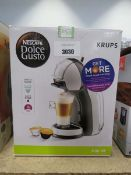 Boxed De'Longhi Dolce Gusto coffee machine
