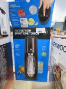 Electric sparkling water maker with box