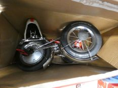 Boxed Schwinn Stingray trike