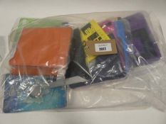 Bag containing quantity of tablet cases