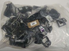 Bag containing charging docks for various point of sale systems