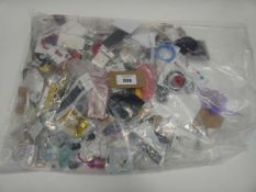 Bga containing quantity of loose costume and dress jewellery