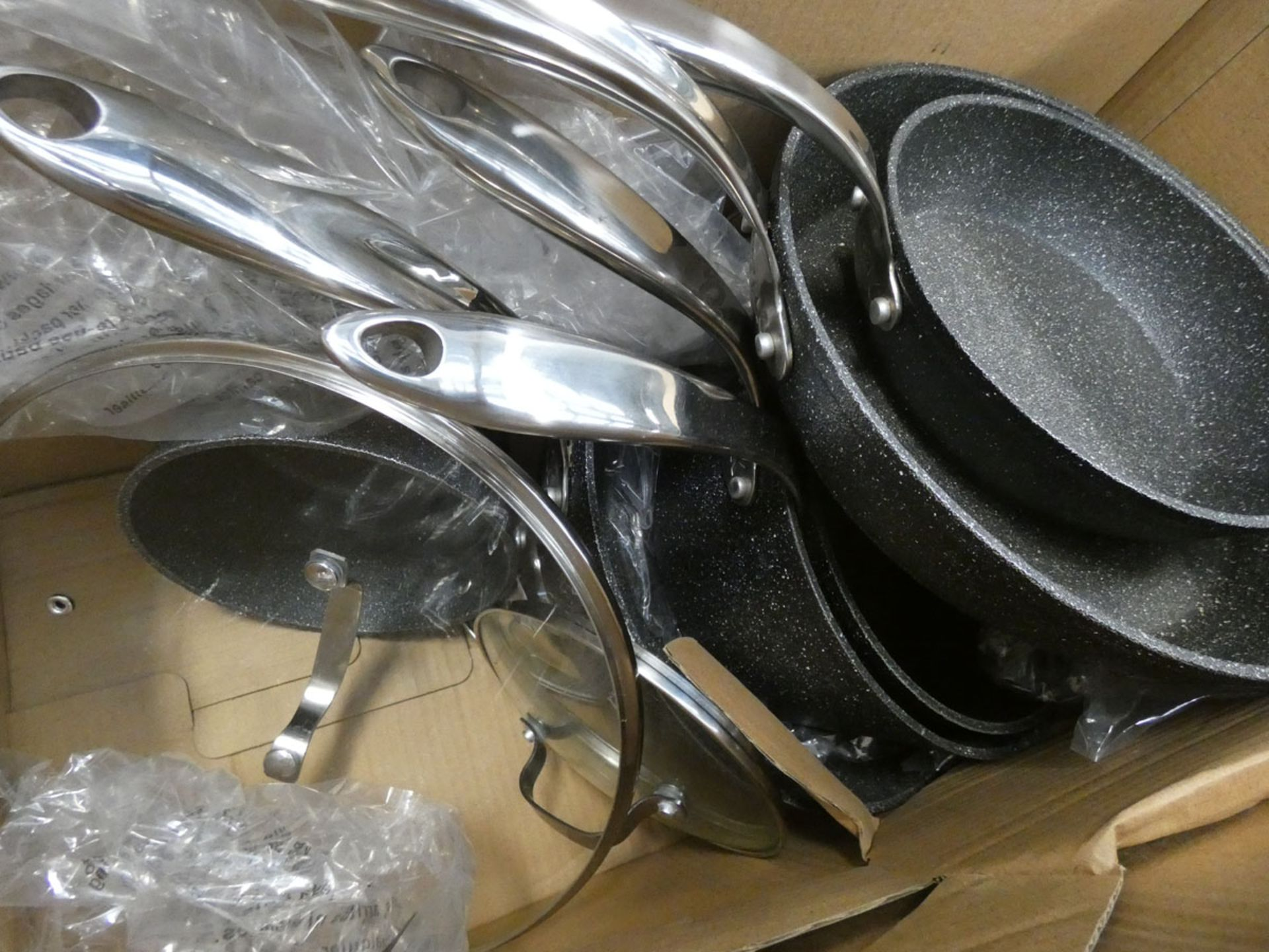 Boxed Starfrit The Rock cookware set - Image 2 of 2