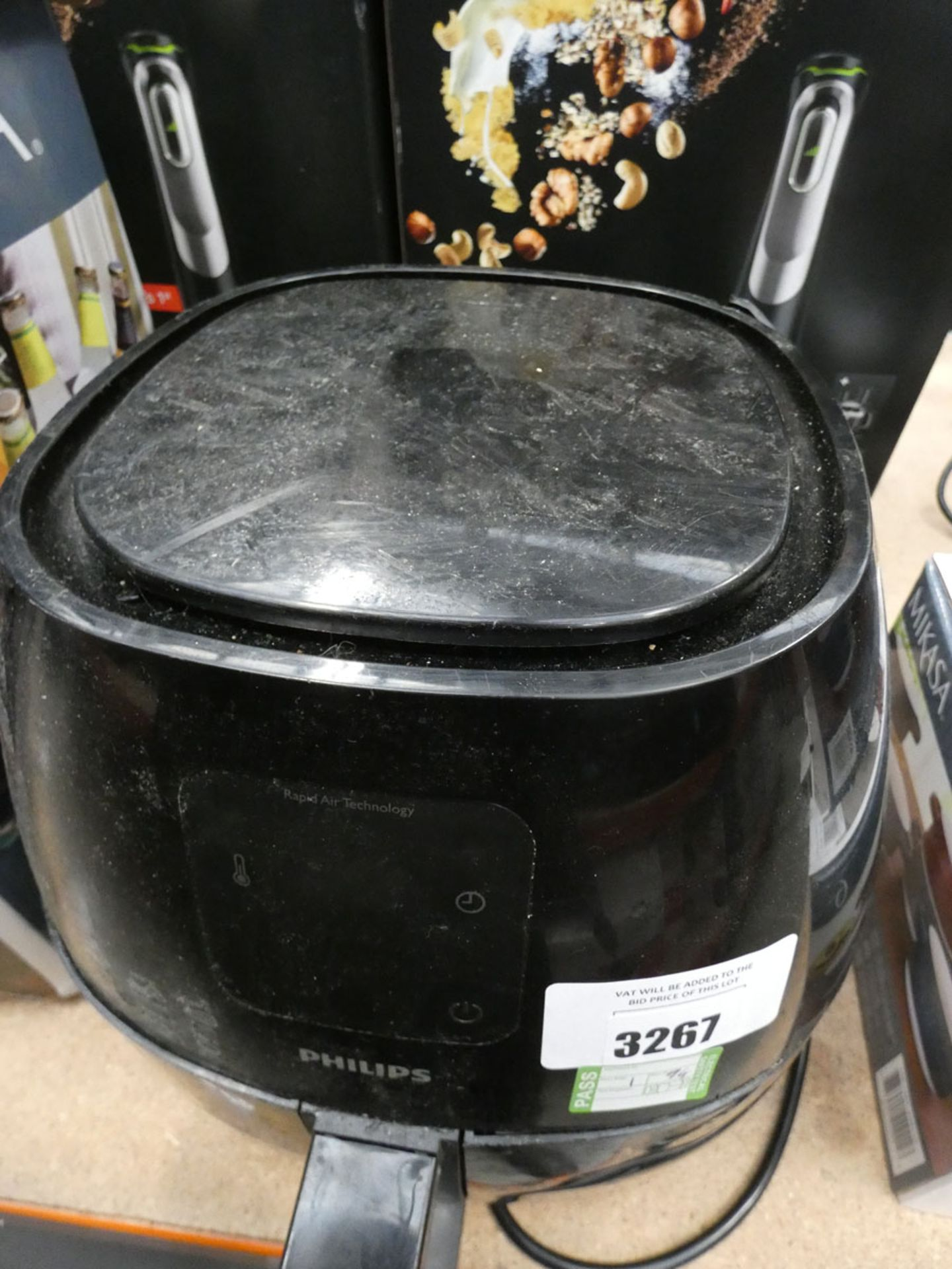 (TN94) Rapid Air Technology Philips fryer - Image 2 of 2