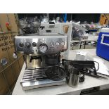 (TN62) Boxed Sage Barista Express coffee machine