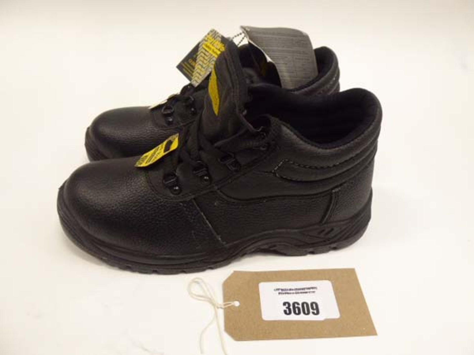 EarthWorks safety boots size 8