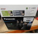 3127 - Panasonic KXTG2723 Eco digital cordless phone with answering system