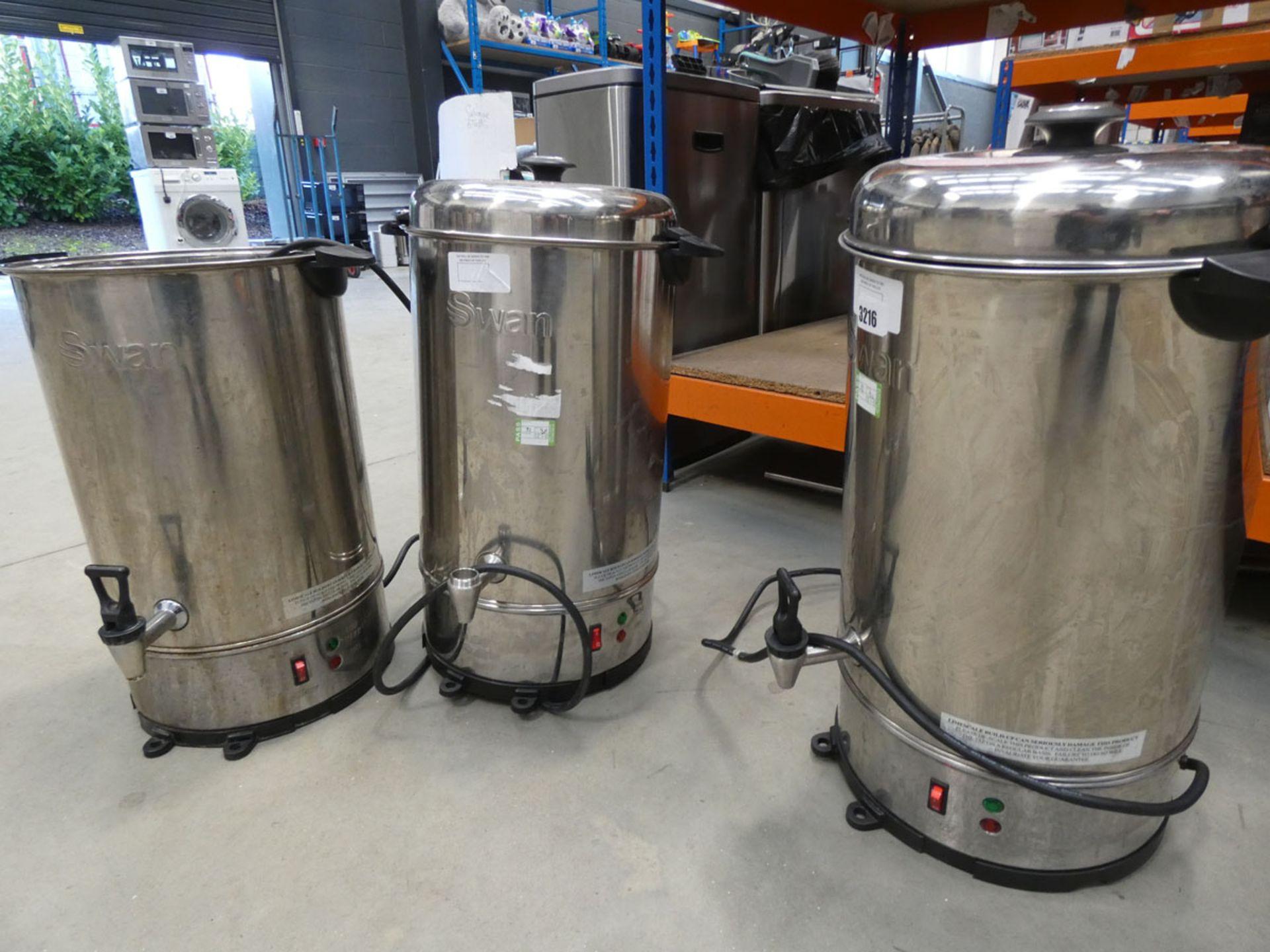 2096 - 2 unboxed Swan water filters
