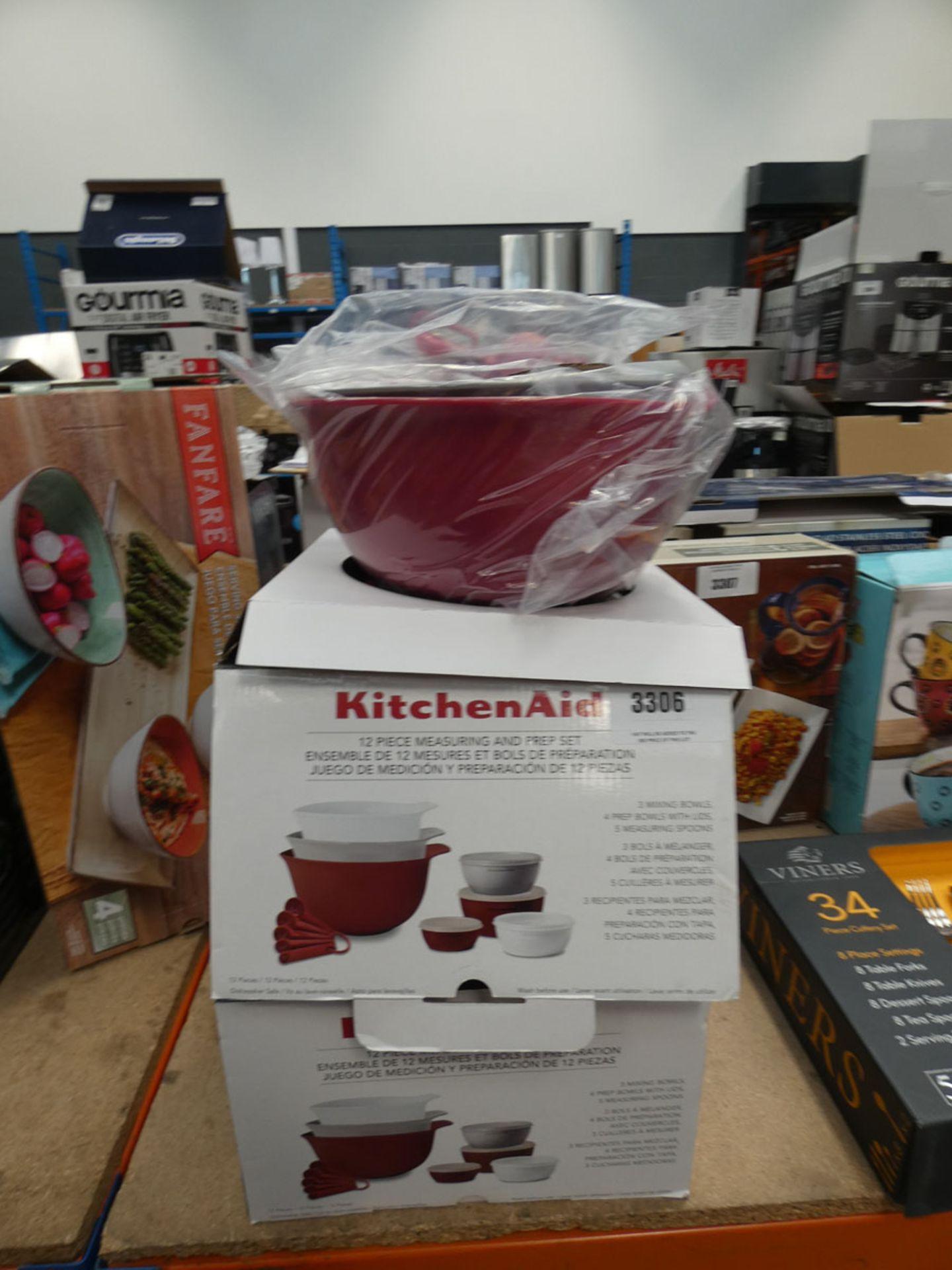 2 boxed Kitchenaid measuring and prep sets
