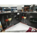 2 boxed Chef & Sommelier France wine glass sets