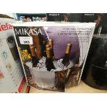 Boxed Mikasa double wall beverage tub