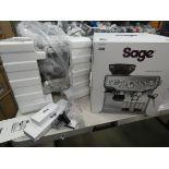 (TN60) Boxed Sage Barista Express coffee machine