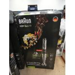 Boxed Braun Multi Quick 9 hand whisker
