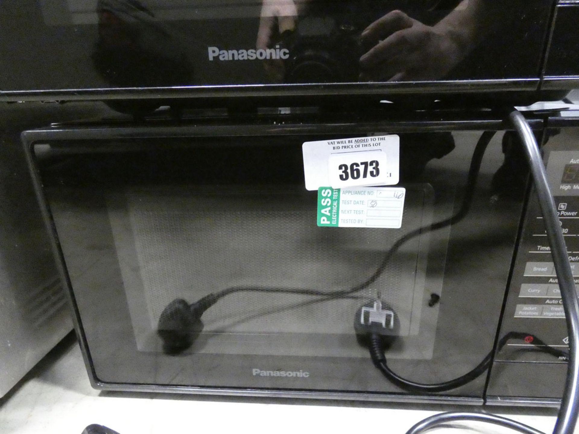 3444 Panasonic microwave