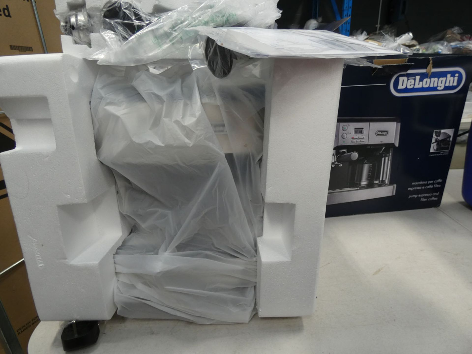 (TN53) Boxed De'Longhi Combi espresso machine
