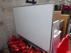 180 cm mobile 2 sided whiteboard