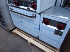 100cm electric RM Gastro PT-90EL single door oven