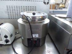 (TN5) Hatco Heat Max single pot bain marie