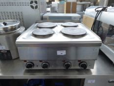 60cm electric 4 ring stove