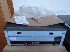 67cm gas RM Gastro FTH-60G bench top 2 burner flat top griddle