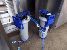 2 Brita water softeners