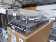 (TN21) 80cm electric RM Gastro VEC-10 bench top heated display case