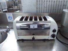 (TN6) 45cm 6 slice Dualit toaster