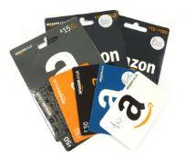 Amazon (x8) - Total face value £205