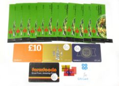 Various : Food & Supermarket (x6) - Total face value £86