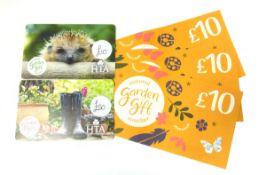 National Garden (x3) - Total face value £90