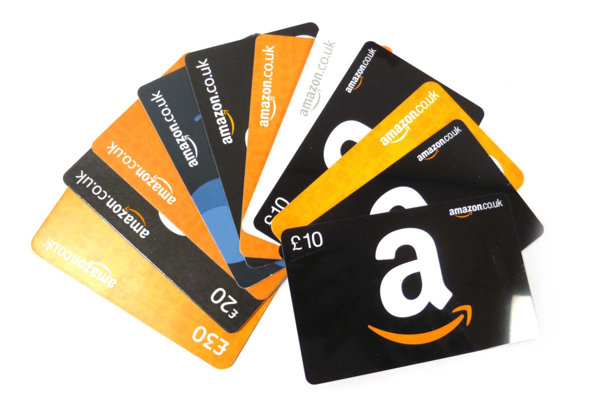 Amazon (x11) - Total face value £170