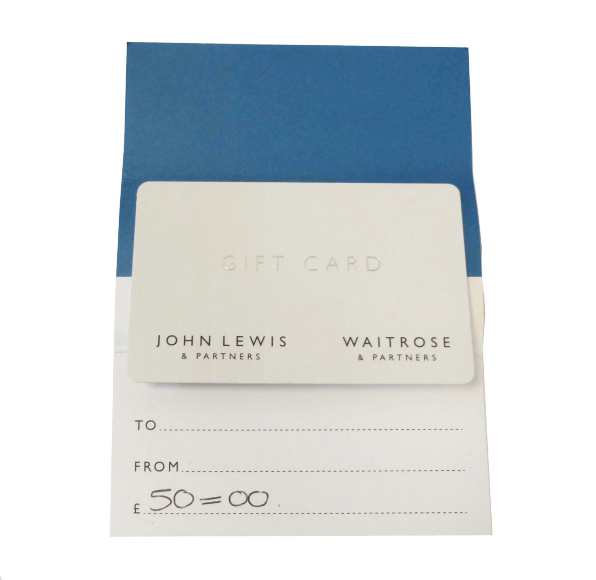 John Lewis (x1) - Total face value £50
