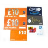 Various : Supermarket (x5) - Total face value £75