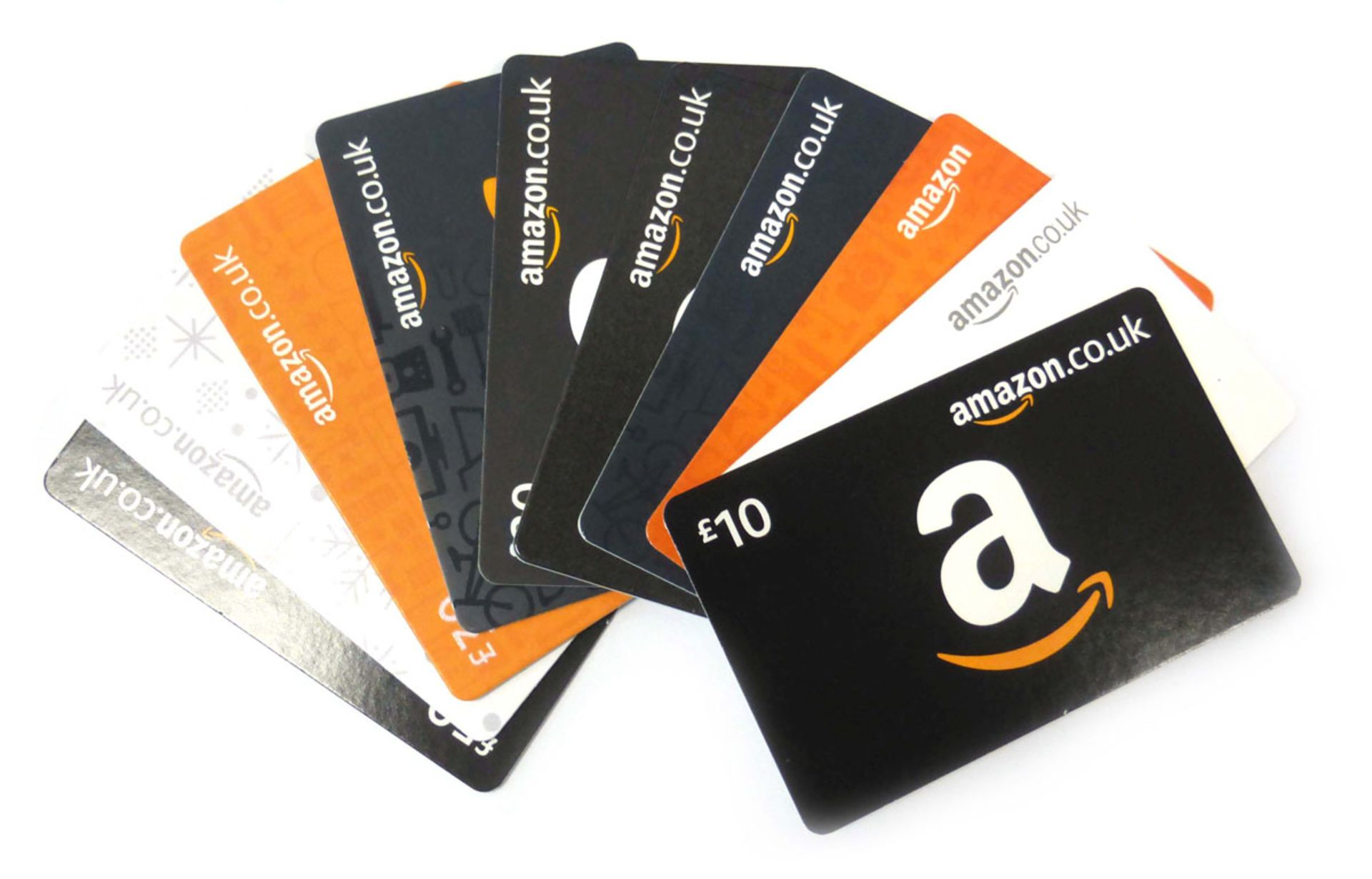 Amazon (x10) - Total face value £216
