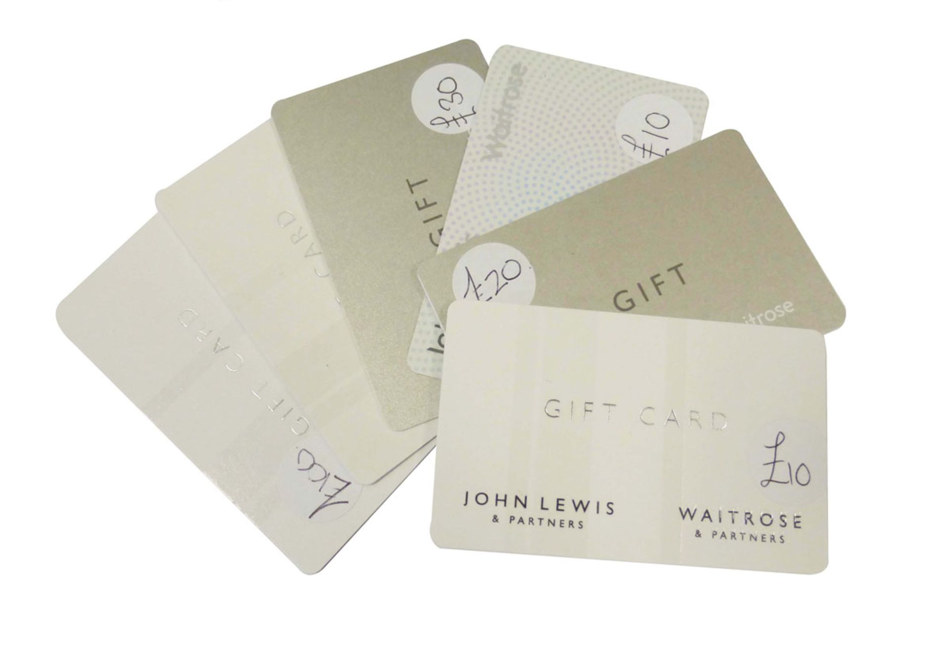 John Lewis (x6) - Total face value £200