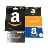 Amazon (x5) - Total face value £170