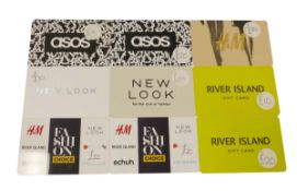 Various : Fashion (x9) - Total face value £155