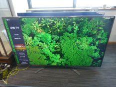 R120 - 75'' LG 4K UHD TV model no: 75UN81006LB include box no: B18