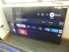 R123 &124 - 75'' TCL 4K UHD TV model no: 75C815K include box no: B22 - this TV has no stand