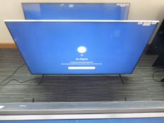R55 - 58'' Samsung 4K UHD TV model: 58TU7110K including box no. B1