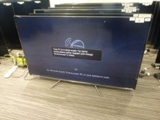 R20, 55'' TCL 4K TV, model 55C715K, to include box no. B98